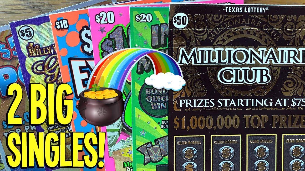 2 BIG SINGLE MATCHES 💥 $150/Tickets $50 Millionaire Club + $20 Instant Millionaire 🔴 TEXAS LOTTERY