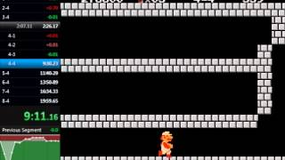 Super Mario Bros. Warpless Speedrun in 19:22.63