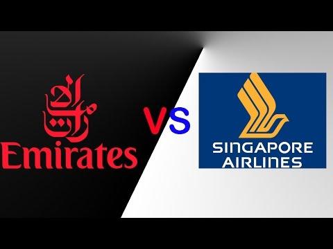 Emirates VS Singapore Airlines  FLEET COMPARISION