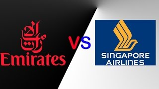 Emirates VS Singapore Airlines  FLEET COMPARISION