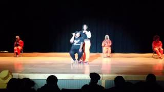 Osoc performing cell black Django by todrick hall