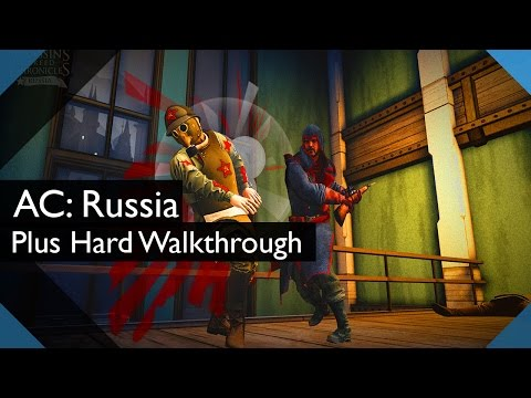 Assassin's Creed Chronicles: Russia - Plus Hard/No Alert Walkthrough - Sequence 1 |