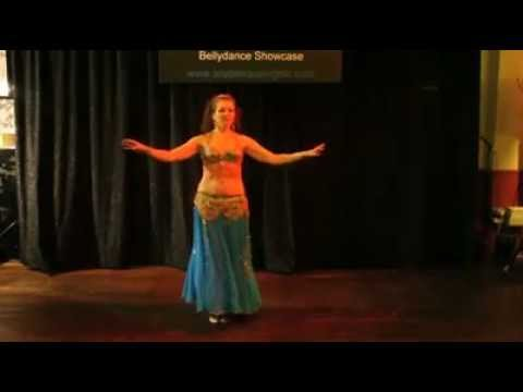 "Aqila Farashah dances to ""Diamonds are Forever"" at Arabesque Nights"