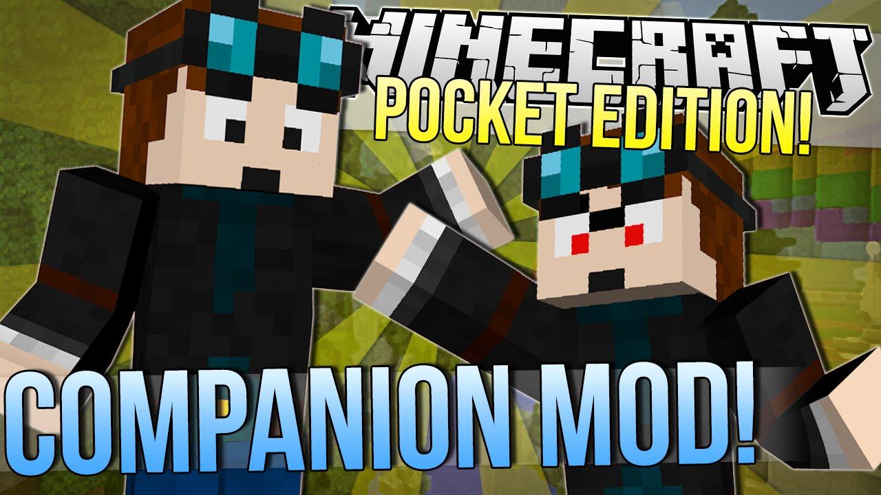 minecraft pocket edition companion mod mod showcase 0 9 4 youtube