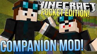 minecraft pocket edition   companion mod   mod showcase 0 9 4