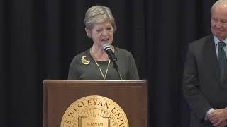 Announcing Georgia Nugent as IWU's 20th President