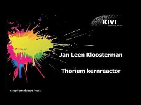 Thorium kernreactor door Jan Leen Kloosterman