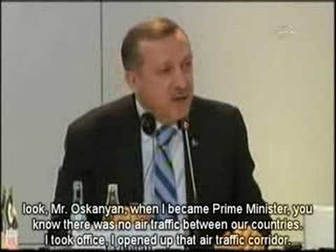 """Turkish Prime Minister talks about Armenian genocide"""