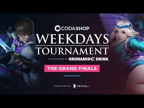 EVOS vs ALTER EGO  | CODASHOP Weekdays Tournament Co-Sponsored by Oronamin C - GRANDFINALS