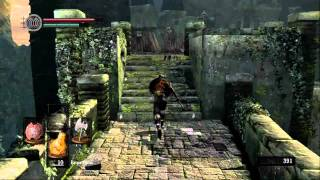 Dark Souls - Make your character strong before the Taurus Demon. Pt 1/2