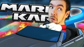 I WILL BITE YOU TOAD! | Mario Kart 8 #2