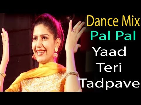 Sapna Choudhary | Pal Pal Yaad Teri Tadpave Dance Mix | Dj Ayush