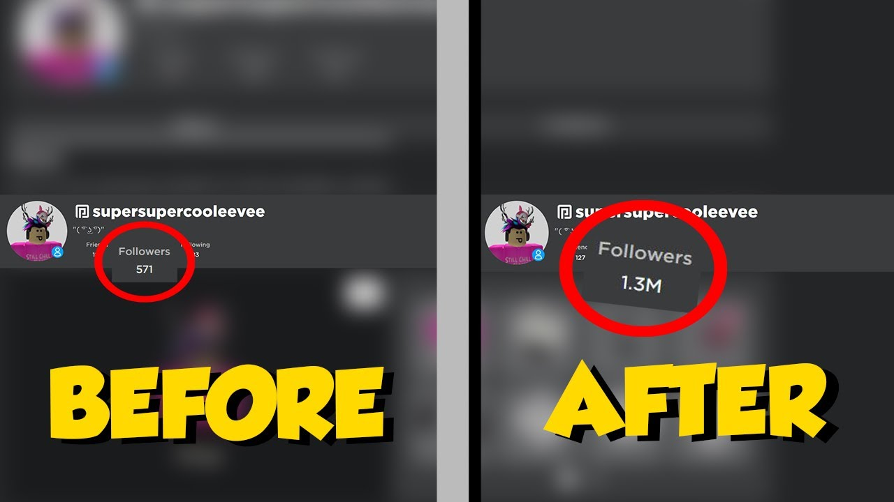 How To Get Unlimited Followers On Roblox 2020 Youtube