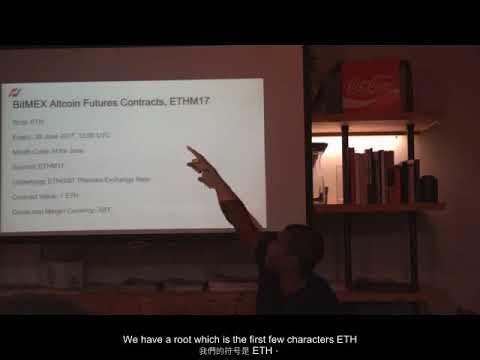BitMEX Altcoins Arbitrage Seminar 17 May 2017 (Subbed)