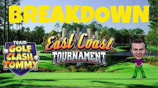 Golf Clash tips, *BREAKDOWN* Power Slice - Hole 6 Expert - East Coast Tournament