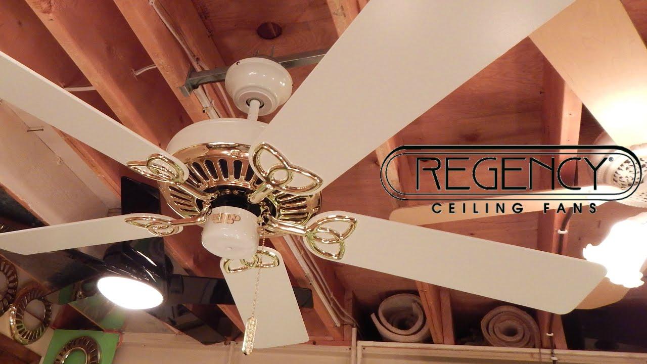 Regency MarquisMX Ceiling Fan  YouTube