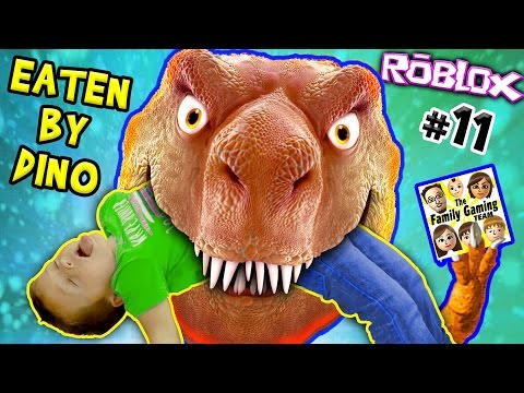 HE ATE MY KID ☠ DINOSAUR SIMULATOR ROBLOX #11 😭 FGTEEV Father vs Son Survival Challenge + Revenge 👊