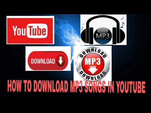HOW TO DOWNLOAD MP3 SONGS IN YOUTUBE