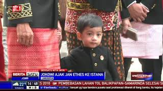 Download Video Ini Aksi Lucu Jan Ethes di Hadapan Wartawan Istana MP3 3GP MP4