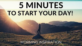 EVERY MORNING WAKE UP AND THANK GOD | Power of Gratitude - Morning Inspiration & Prayer to Motivate