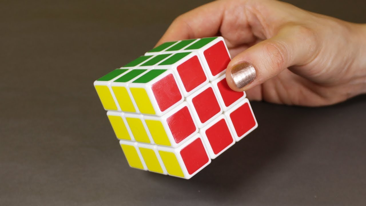 c4c50cbb6749 How to Solve a Rubik s Cube EASIEST WAY WITHOUT FORMULA - YouTube