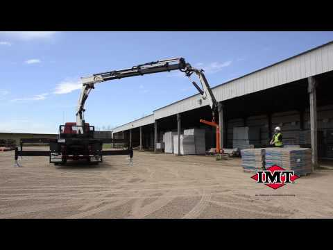 Iowa Mold Tooling (IMT) Articulating Cranes