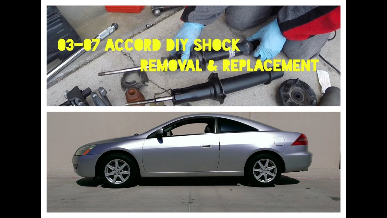 How to Replace Shocks / Struts on 2003-2007 Honda Accord