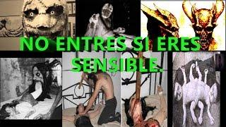 La TERRORÍFICA PAGINA encontrada en la DEEP WEB (Ritos Satánicos)