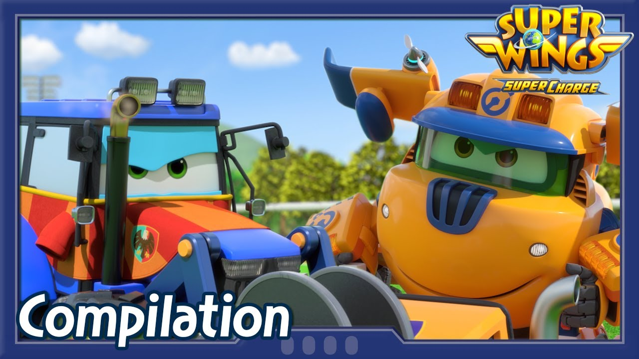 [Superwings s4 Compilation] EP13 ~ EP15 | Super wings Full Episodes