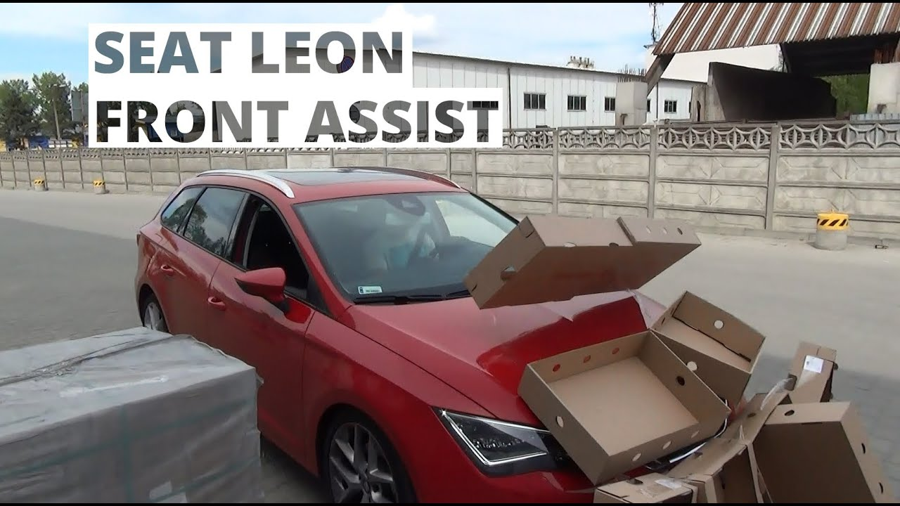 seat leon dzia anie systemu front assist youtube. Black Bedroom Furniture Sets. Home Design Ideas