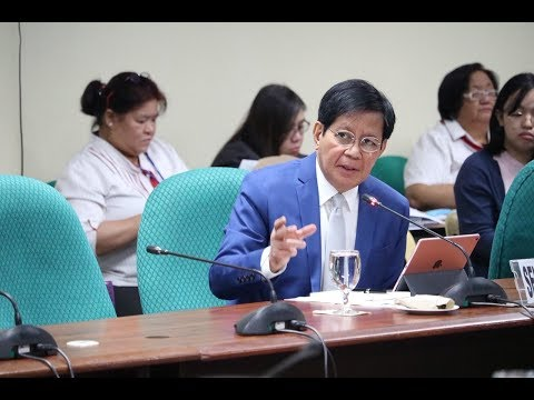 Hearing for the 2019 Budget of the DILG | Nov. 12, 2018