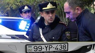 YPX - Yol polisi sürücünü döyülməklə təhdid etdi