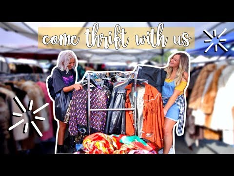 COME THRIFT WITH US IN LA | MIDSIZE THRIFT HAUL!
