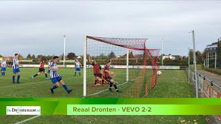 Reaal Dronten - VEVO (Veessen) 2-2