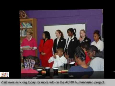 Holy Savior Catholic Academy Receive Tribute & Free Discount Cards by Charles Myrick of ACRX