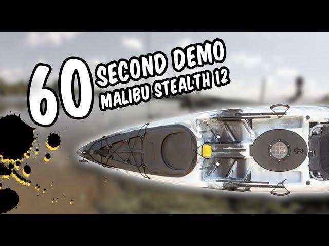 Malibu Stealth 12 - 60 Second Demo