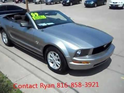 2009 ford mustang convertible 4 0 v6 1 owner clean autocheck for sale youtube. Black Bedroom Furniture Sets. Home Design Ideas