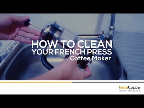 How To Clean Your French Press Coffee Maker