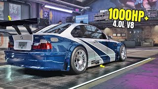 Need for Speed Heat Gameplay - 1000HP+ BMW M3 E46 GTR LEGENDS EDITION Customization | Max Build 400+
