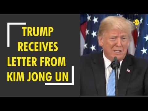 US-North Korea talks: Donald Trump recieves letter from Kim Jong-un