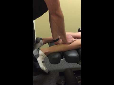 Hip and Calf Pain Relief for Boston Marathon Runner