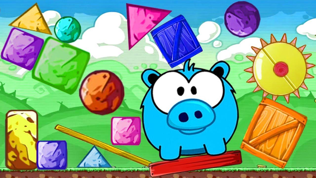 Hungry Piggy - Juegos Para Niños - Videos de Cerditos Felices