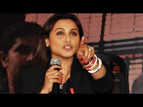 Rani Mukherjee SNAPS at Journalist
