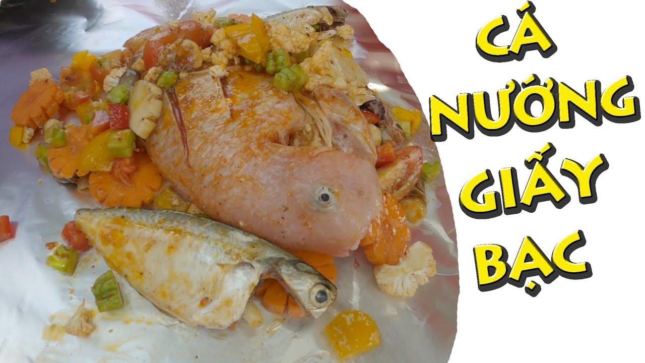 Chị Già Làm Món Cá Diêu Hồng Nướng Giấy Bạc (Video Tự Ngẩu)   Thái Già Vlogs
