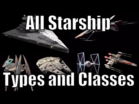 All Starship Types and Classes - Star Wars
