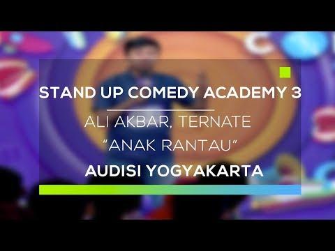 Stand Up Comedy Academy 3 : Ali Akbar, Ternate - Anak Rantau