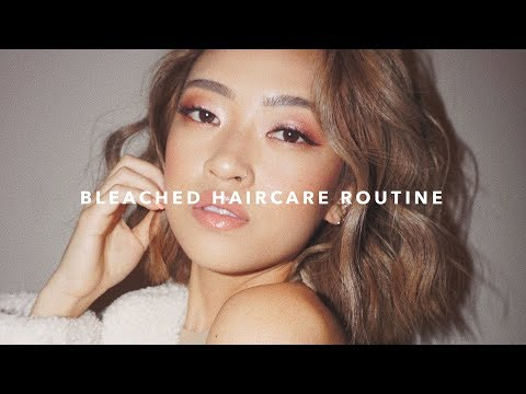 Bleached Haircare Routine - YouTube