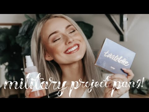 MILITARY PROJECT PAN INTRO 2019! Collab w/ Christina Chang