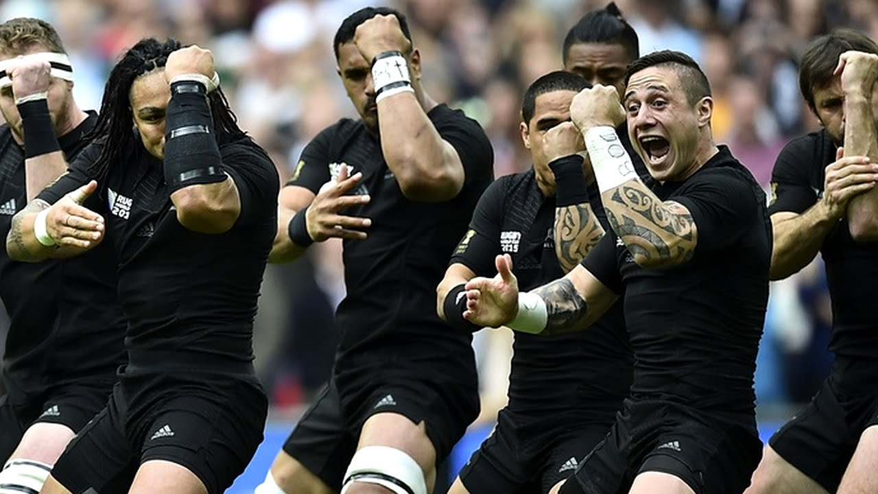 e715bfffa7c First All Blacks Haka of Rugby World Cup 2015 - YouTube