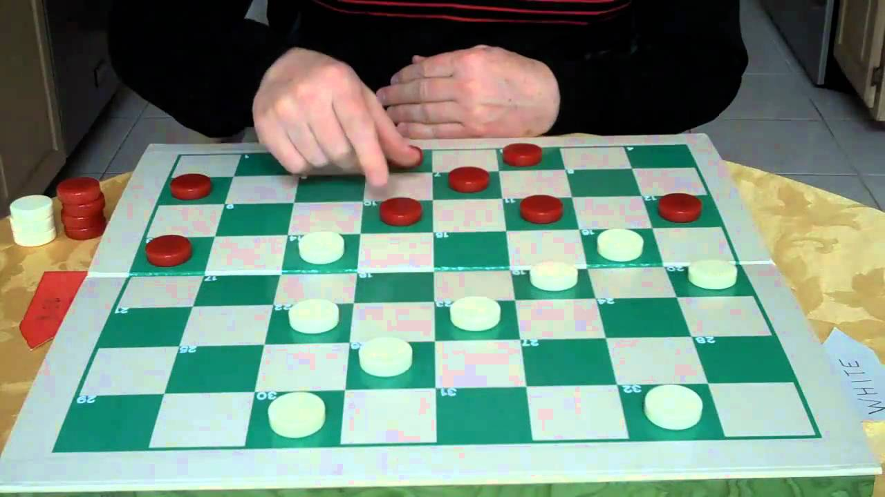 how to play draughts youtube